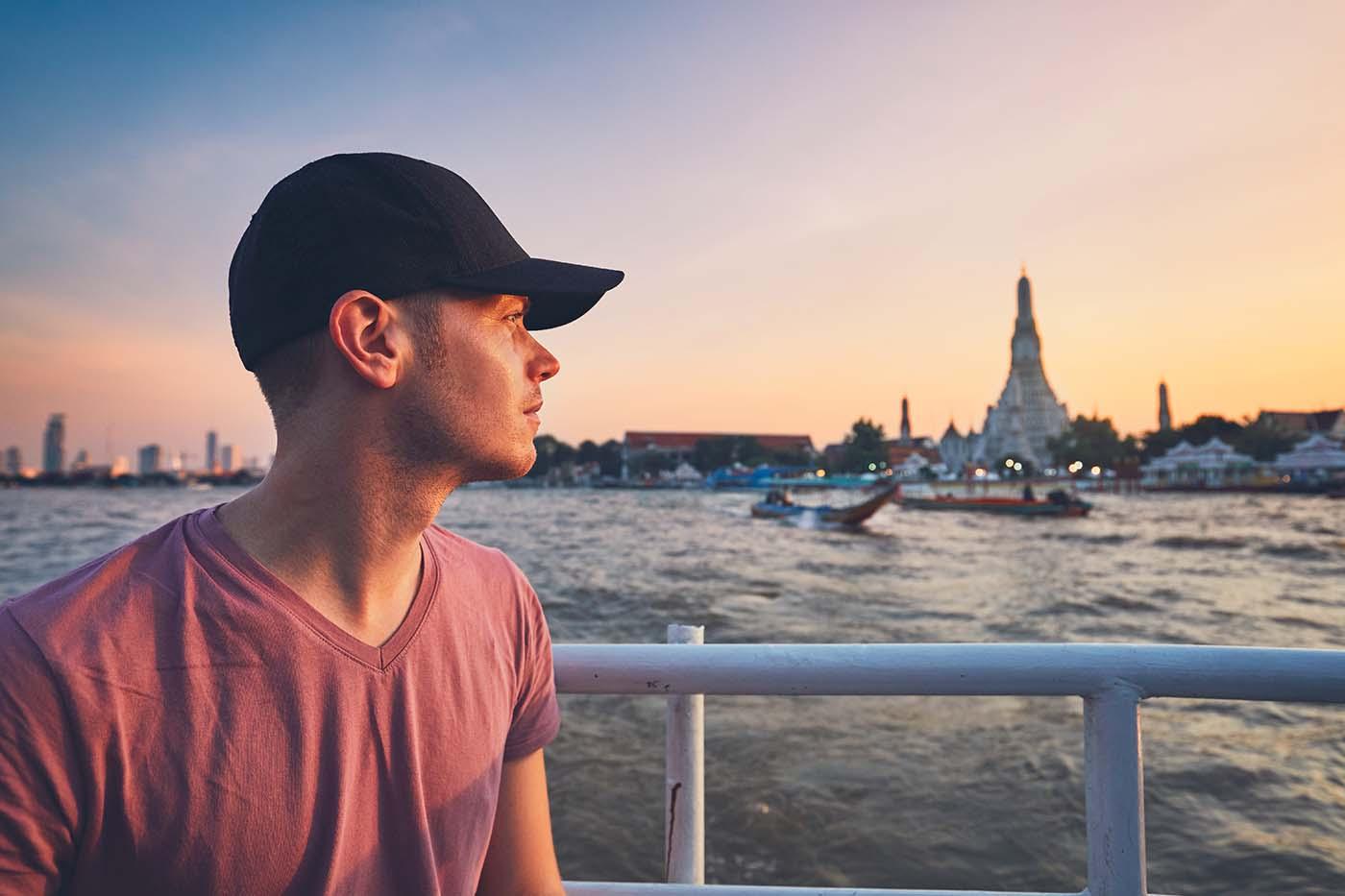 Sunset in Bangkok- ALG Thai Language School